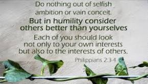 The Philippians 2:3 Silver Lining